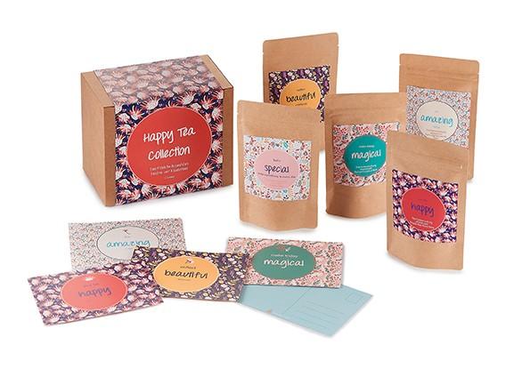 Geschenkset Happy Tea Box